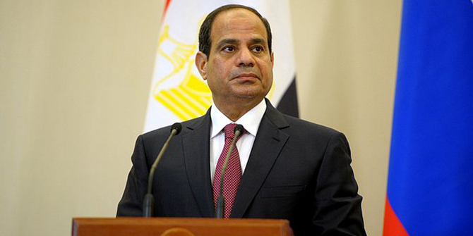 Abdel Fattah el-Sisi, sixth and current President of Egypt