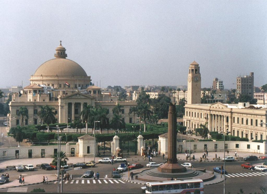 Die Kairoer Universität ist seit 2013 schwer be- und überwacht durch ägyptische Sicherheitskräfte.
